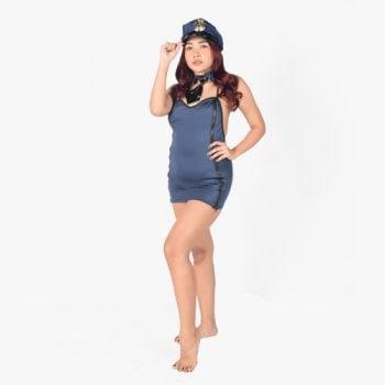 Baddie Police Woman Costume