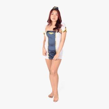 Captain Sailor Lady Costume