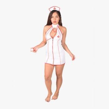 Fiery Nurse Costume
